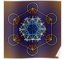 Metatrons Cube #1 Poster