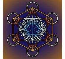 Metatrons Cube #1 Photographic Print