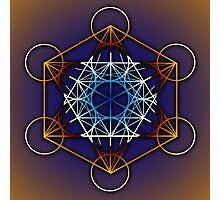 Metatrons Cube #1 Photographic Print