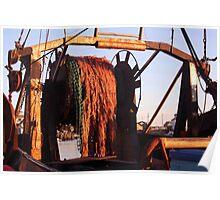 Menemsha Trawler Poster