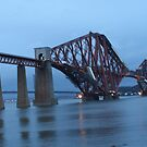 Dusk over the Forth by emanon