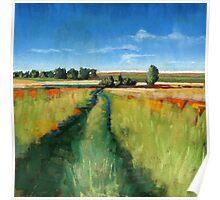 Abandoned Path landscape Poster