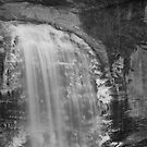 Looking glass falls  by Forrest Tainio