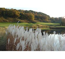 golfing in galena Photographic Print