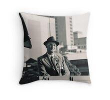 Melbourne ANZAC day parade ca.2001 - 01 Throw Pillow