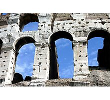 Coloseum Archways Photographic Print