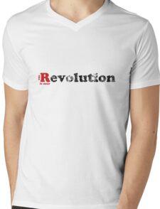 The Revolution is near Mens V-Neck T-Shirt