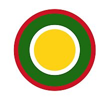 Royal Brunei Air Force - Roundel Photographic Print