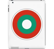 Bulgarian Air Force - Roundel iPad Case/Skin