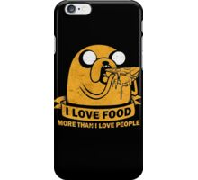 Food I love the Most iPhone Case/Skin