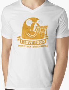 Food I love the Most Mens V-Neck T-Shirt