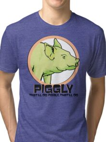 Piggly (also known as Piggly 3) Tri-blend T-Shirt