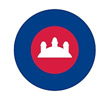 Royal Cambodian Air Force - Roundel Photographic Print