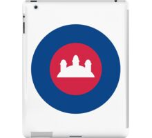 Royal Cambodian Air Force - Roundel iPad Case/Skin