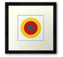 Cameroon Air Force - Roundel Framed Print
