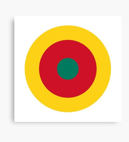 Cameroon Air Force - Roundel Canvas Print