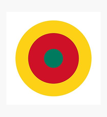 Cameroon Air Force - Roundel Photographic Print