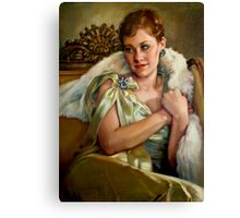 Vintage Glamour Canvas Print