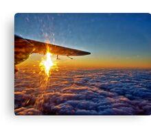 Trislander Sunset Canvas Print