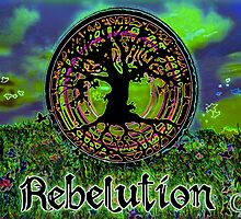 Rebelution Tree of Life 'Bright Side of Life' #3 Beautiful Artwork #2 by capartwork