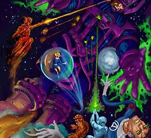 Cosmic Rays Man, cosmic rays... by ARTofMistyrE