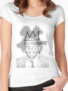 king of the art Women's Fitted Scoop T-Shirt