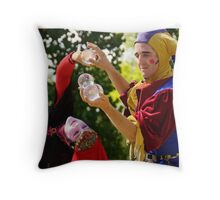 Let Me Entertain You Throw Pillow