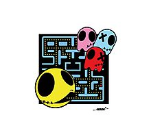 Pacman by ArteCita Photographic Print