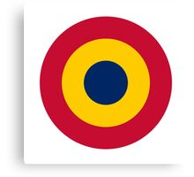 Chadian Air Force - Roundel Canvas Print