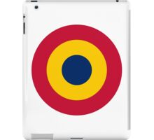 Chadian Air Force - Roundel iPad Case/Skin