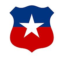 Chilean Air Force - Roundel Photographic Print