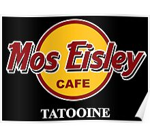 Mos Eisley Cafe Poster