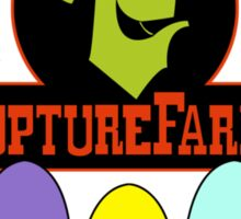 Oddword Abe's Oddysee 'This Is Rupture Farms' Sticker