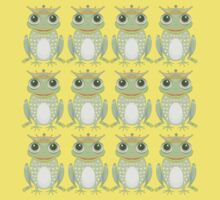 Twelve Princely Frogs Kids Clothes