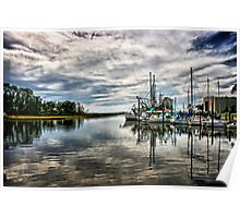 Ocean Springs Harbor HD Poster