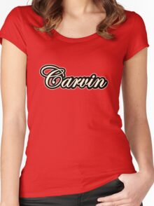 Vintage Carvin  Women's Fitted Scoop T-Shirt