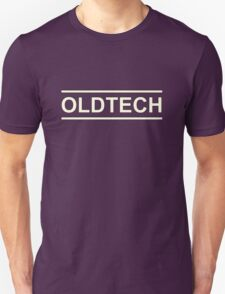 White Oldtech Unisex T-Shirt