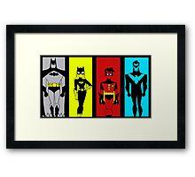 batman14a Framed Print