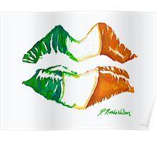 Kiss Me, I'm Irish Poster