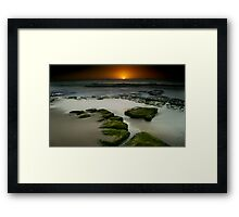 BAR BEACH Framed Print