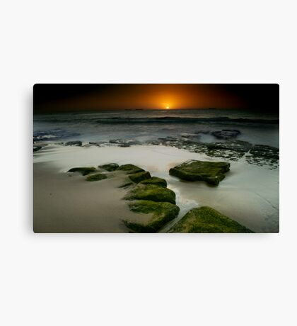 BAR BEACH Canvas Print