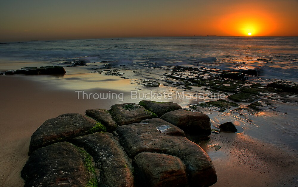 SUNRISE BAR BEACH by Throwing  Buckets Magazine