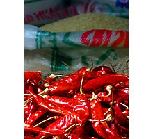 Red Hot Chilli Photographic Print