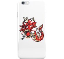 Red Gyrados GBC iPhone Case/Skin