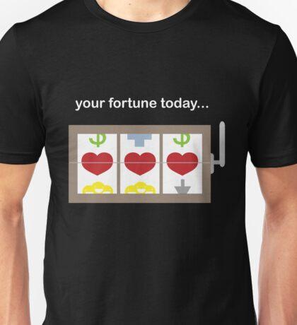 Slot Machine Fortune Teller Unisex T-Shirt