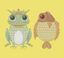 Frog & Fish Kids Clothes