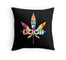 Trippy Doob Throw Pillow