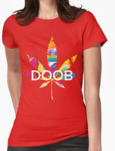 Trippy Doob Womens Fitted T-Shirt
