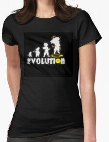Goku´s Evolution Womens Fitted T-Shirt