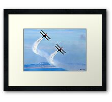 The Only Way To Fly! Framed Print